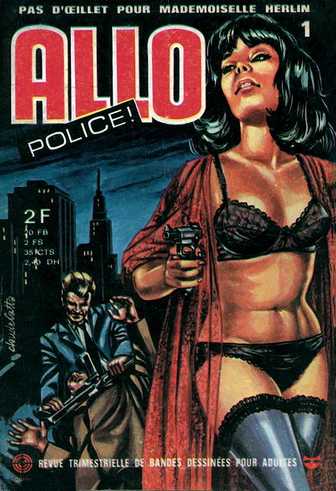 sans mention d'édition (Belvédère / Bellevue) : ALLO POLICE ! - N° 1
