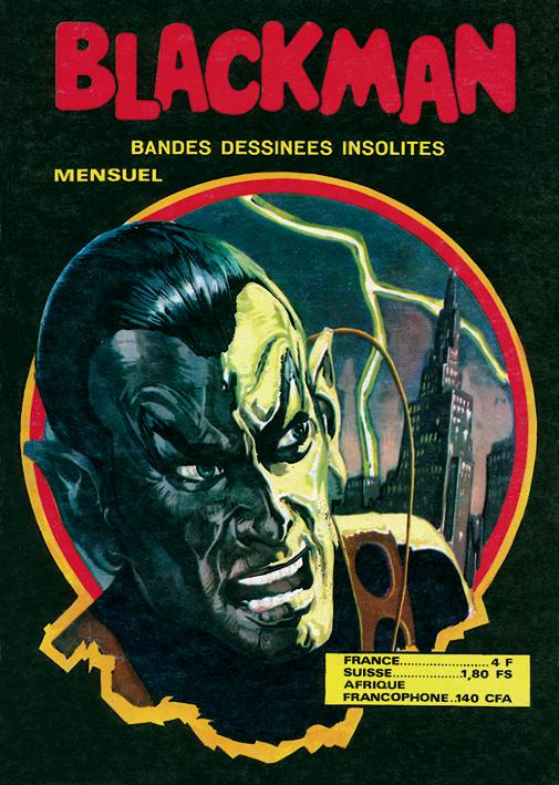 Éditions du Domino : BLACKMAN - N° 201