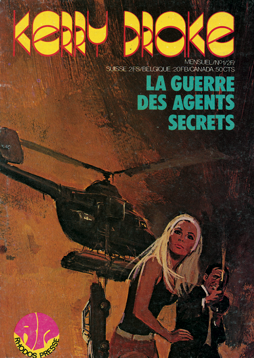 Éditions Rhodos Presse : KERRY DRAKE - N° 1